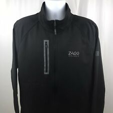 The North Face Mens Jacket Full Zip Pockets Black Size XL