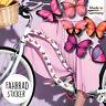 Fahrradaufkleber 34 Schmetterlinge Fahrrad Sticker Fahrraddesign Kinderfahrrad