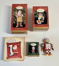 Lot 3 1999 Hallmark Keepsake Ornament Collector's Club Membership Ornaments + 2