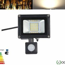 20W PIR Motion Sensor LED Flood Light SMD Outdoor Garden Lamp 220V Warm White