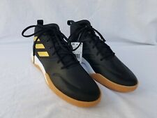 New Men's Adidas Own The Game Basketball Shoes EE9636 Black with Gold