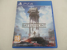 STAR WARS BATTLEFRONT - SONY PLAYSTATION 4 - JEU PS4 COMPLET VF