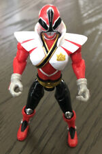 *MMPR*Power Rangers*Super Samurai*Mega Red Fire Ranger*4.5? Figure*Bandai*NICE!*