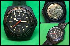 LANCO-Vintage Mechanical Manual-model Sub-cal.AS 5200-Swiss Made-all Black-rare