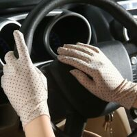 Women Driving Gloves Casual UV Protection Summer Ladies Fashion Gloves