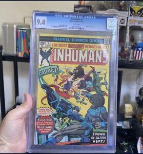 Inhumans #1 Graded 9.4