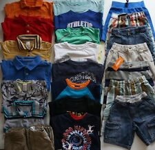 Boys Size 4 Summer Clothes Lot of 23 Items L2-19