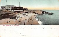 Postcard Bath House in La Jolla, San Diego, California~125365