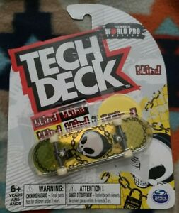 Tech Deck BLIND World Pro Edition 2021 Fingerboard Skateboard - NEW SEALED