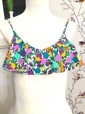 All About Eve Women's Floral Fruit Bikini Top Beach Sz. AU 10