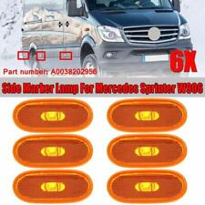 6 Pcs Side Marker Lamp Turn Signal For 07-18 Mercedes Sprinter W906 A0038202956