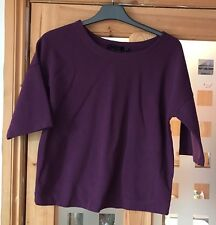 Ladies Size 8 Top From New Look Purple Vgc