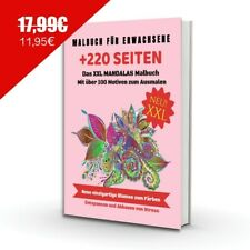 MANDALA Malbuch für erwachsene - Perfekt zur Stressbewältigung & Entspannung