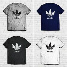 T-Shirt ACIDIC FAKE ADIDAS Idea Maglia Regalo
