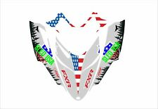 POLARIS IQ RMK SHIFT DRAGON assault graphics DECAL STICKER fxr sled usa ggb grey