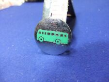 vtg badge london country coach bus driver conductor gaunt 1960s  psv transport