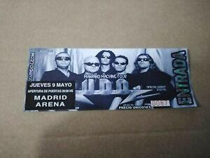 U.D.O 9 MAYO - MADRID ARENAEntrada ticket