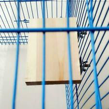 Pet Bird Parrot Toy Wood Hanging Cages Parakeet Stand Platform Perches Sale