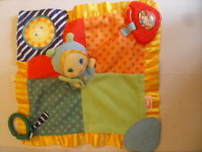 Playskool Colourful Comfort Blanket, Girl Finger puppet, rattle, teether