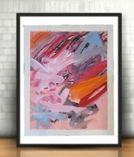 ABSTRACT ORIGINAL PAINTING EXPRESSIONISM DESIGN CONTEMPORARY MODERN GALLERY DECO