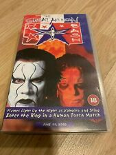WCW The Great American Bash 2000  VHS VIDEO