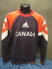 RARE SWEET ENTRAINEMENT porté no maillot shirt FRANCE 1990's  maglia foot