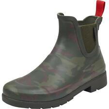 Tretorn Womens Lina 2 Green Camouflage Rain Boots Shoes 5 Medium (B,M) BHFO 0777