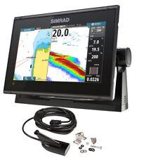 Simrad Go9 Xse Chartplotter/Fishfinder w/Medium/High DownScan Transom Mount T.