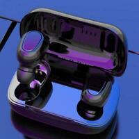 Bluetooth 5.0 Headset TWS Wireless Earphones Earbuds Sports L21 Stereo Head R2W6