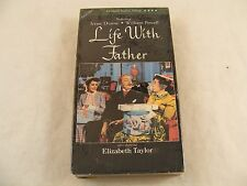 RARE OOP - VHS MOVIE  - LIFE WITH FATHER- ,ELIZABETH TAYLOR,1947 -NEW and Sealed