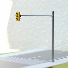 2 x HO / OO traffic light signal LED model train crossing walk Street #V1B3OR