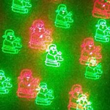 Holiday Design Laser Light Projector - 12 Patterns - Red/Green/Blue