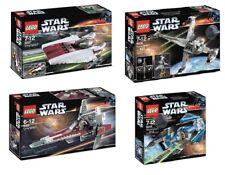 4-SET 2006 STAR WARS LEGO 6205 6206 6207 6208 Rebel Empire Ships Revenge NEW