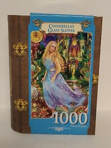 2015 Master Pieces Jigsaw Puzzle Cinderella's Glass Slipper 1000 pcs NEW SEALED