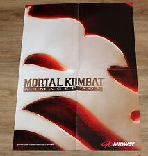 2006 Mortal Kombat Armageddon very rare Promo Poster 59x42cm Xbox PS2
