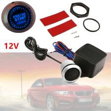 12V Car Engine Start Blue LED Keyless Entry Push Button Switch Lgnition Starter