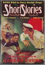 Vintage Pulp Magazine~SHORT STORIES~September 25, 1938 WILLIAM F. SOARE Cover!