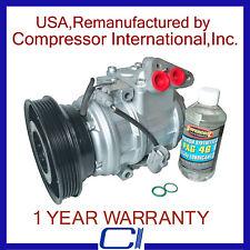 1997-2001 Camry 2.2L,1999-2001 Toyota Solara 2.2L OEM Reman A/C Compressor