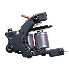 Tattoo supply one pc Zinc Alloy Machine Gun 10 Wrap Coils For Kit Liner WQQ4134