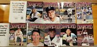 Set of 9 - Diamond Baseball Magazines Mantle Ruth Mays Aaron SALE Reduced Price