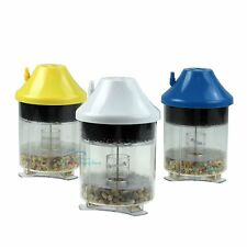 Aquarium Bottom Gravel Cleaner Air Driven Debris Waste Sludge Remover Fish Tank