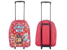 Disney Kids Boys Girls Cabin Trolley Case Wheeled Bag Suitcase Hand Luggage Paw Patrol