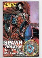 Arena Magazine 17 1994 Rare Spawn/Violator Cover - Todd McFarlane - VF/NM