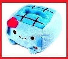 JAPANESE HANNARI TOFU PLUSH MOBILE PHONE STAND *Blue* 1pc