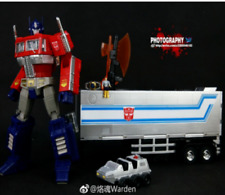 Transformers Japanese version of the color MP10 Optimus Prime Car Cab Set