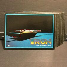1982 Donruss Tron Set of 66 Cards Sku468A