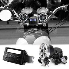 Waterproof Motorcycle Radio Audio For Harley Davidson HD Sportster Dyna Softail