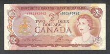 1974 RADAR $2.00 ** 2695962 ** RARE 4-Digit KEY Bank of Canada QEII Two Dollars