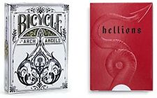 """""""Angels and Demons"""", Archangel and Hellions Playing Cards 2- Deck Set by Bicycle"""