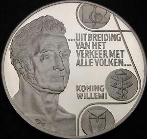 NETHERLANDS 25 Ecu 1992 Proof - Silver - Willem I Frederik - 866 ¤